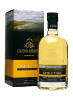 GlenGlassaugh – Evolution - Classic Speyside Malt 50% Ex-Tennessee Casks
