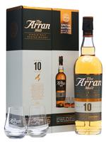 THE ARRAN MALT - 10 YEARS OLD SINGLE MALT I FLOT GAVEÆSKE