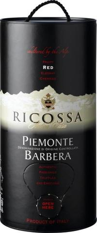 Ricossa Piemonte Barbera DOC Bag-In-Box 3 liter.