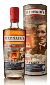 MacNair's Lum Reek - Peated 12 Years Old - Small Batch 46%