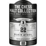 The Chess Malt Collection Blair Athol Black Knight 22 Yo B8 57,2 % Alkohol III