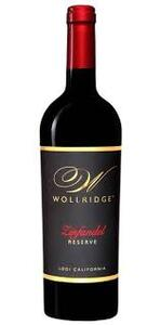 Wollridge Zinfandel Reserve - Lodi, California 2018.