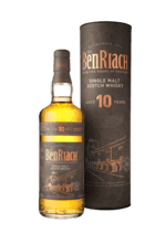 BenRiach 10 Years Old Speyside Single Malt (Bourbon/Sherry/Virgin Oak Casks)