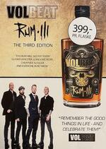 VOLBEAT RUM THE THIRD EDITION